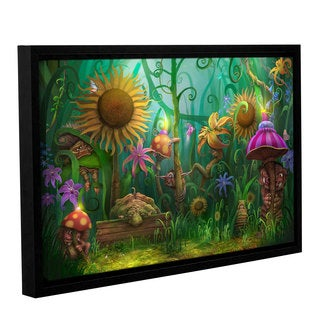 ArtWall Philip Straub 'Meet The Imaginaries' Gallery-wrapped Floater-framed Canvas