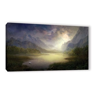 ArtWall Philip Straub 'Silent Morning' Gallery-wrapped Canvas