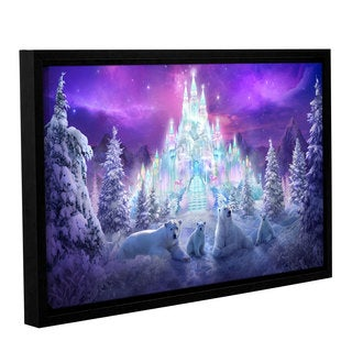 ArtWall Philip Straub 'Winter Wonderland' Gallery-wrapped Floater-framed Canvas