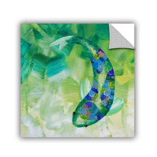 ArtAppealz Shiela Gosselin 'Greenkoi' Removable Wall Art