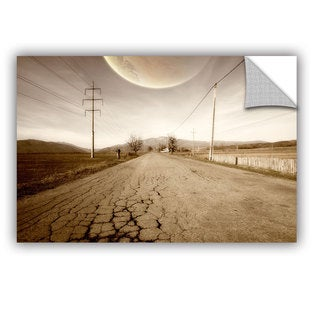 ArtAppealz Dragos Dumitrascu 'The Road-Planet Side' Removable Wall Art