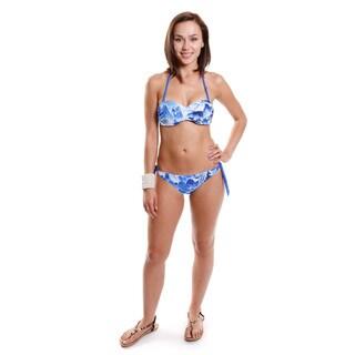 Hadari Women's Scenic Print Bikini