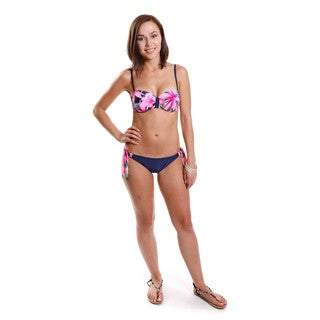 Hadari Women's Adjustable Bandeau Two-piece