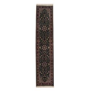 Herat Oriental Pakistani Hand-knotted Tabriz Wool Rug (2'6 x 12')