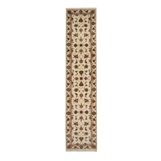 Herat Oriental Pakistani Hand-knotted Tabriz Wool Rug (2'8 x 12')