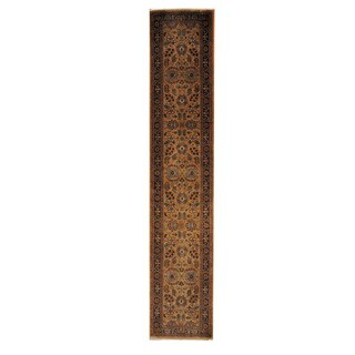 Herat Oriental Pakistani Hand-knotted Tabriz Wool Rug (2'5 x 12'2)