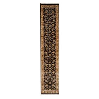 Herat Oriental Pakistani Hand-knotted Tabriz Wool Rug (2'7 x 12'6)