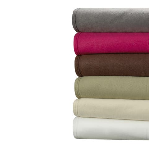 Clara Clark Super Soft Fleece Bed Sheet Set