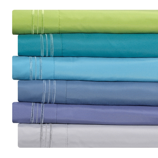 Clara Clark Bright Color Collection Bed Sheet Set