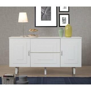 Clay Alder Aria Butter White 2-Door 2-Drawer Buffet