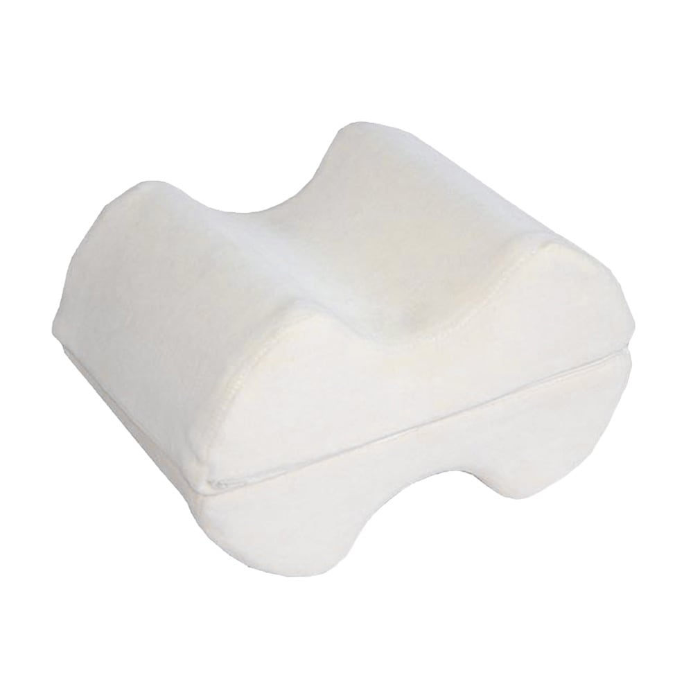 Deluxe Comfort Leg Memory Foam Wedge Pillow (White), Size...