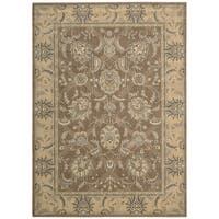 Nourison Persian Empire Mocha Rug - 3'6 x 5'6'