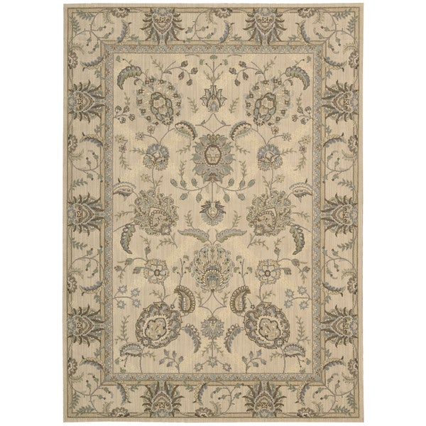 Nourison Persian Empire Ivory Rug - 5'3 x 7'5""