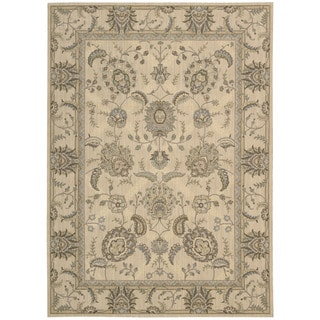 Nourison Persian Empire Ivory Rug (5'3 x 7'5)
