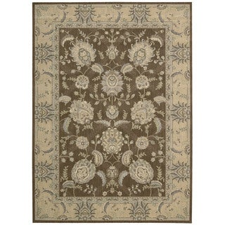 Nourison Persian Empire Chocolate Rug (5'3 x 7'5)