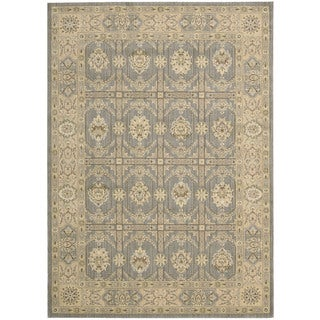 Nourison Persian Empire Slate Rug (5'3 x 7'5)