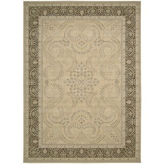 Nourison Persian Empire Sand Rug (7'9 x 10'10)
