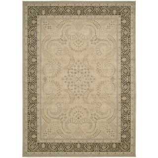 Nourison Persian Empire Sand Rug (9'6 x 13')