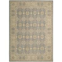 Nourison Persian Empire Slate Rug (7'9 x 10'10) - 7'9 x 10'10