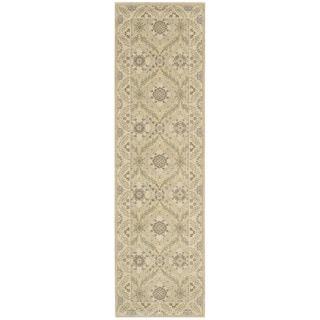 Nourison Persian Empire Light Gold Runner Rug (2'3 x 8')