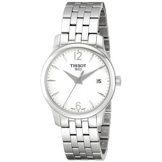 Tissot Women's T0632101103700 'Tradition' Silver Stainless steel Watch