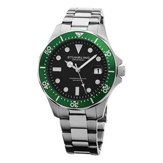 Stuhrling Original Men's Regatta Quartz Stainless Steel Bracelet Watch