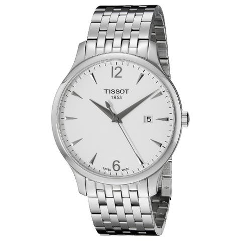 Tissot Men's T0636101103700 'T-Classic Tradition' Stainless Steel Watch