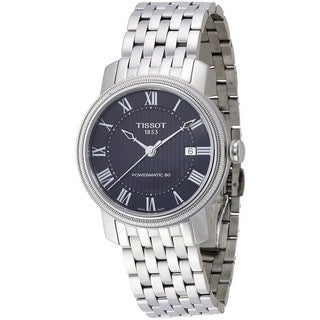 Tissot Men's T0974071105300 'T-Classic Bridgeport Powermatic 80' Automatic Stainless Steel Watch