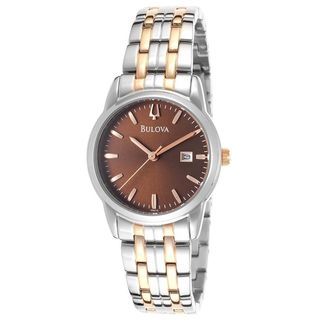 Bulova Women's 98M115 Two-Tone Stainless Steel Watch