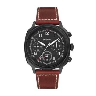 Bulova Men's 98B245 Stainless Steel Chronograph UHF Watch