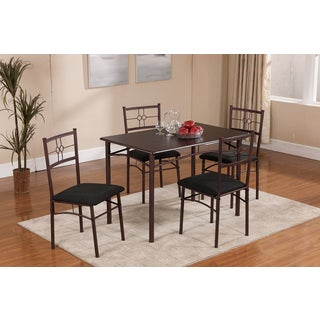 5 Piece Dinette Set (Table & 4 Chairs)