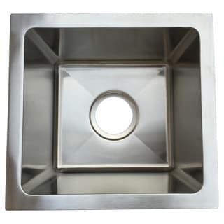 Starstar Single Bowl Undermount Kitchen/Bar Sink 304 Stainless Steel