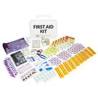 First-Aid Kit, 25-person, Plastic case