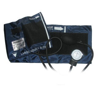 Ever Dixie Large Adult Blood Pressure Blood Pressure Cuff Set With Case, Navy Blue