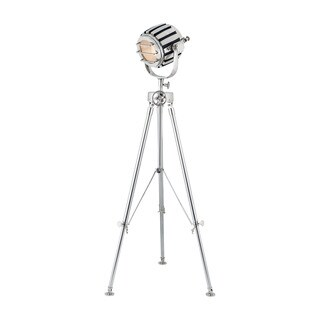 Dimond Studio 1-light Nickel Finish Tripod Lamp