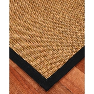 "Handcrafted Sorrento 2'6"" x 8' Rug - Black"