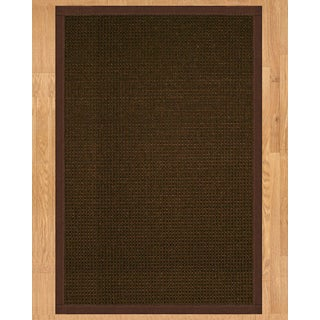 Handcrafted Valencia 2' x 3' Rug - Brown