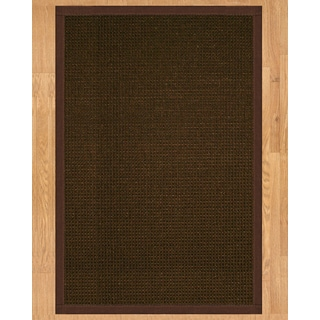 Handcrafted Valencia 9' x 12' Rug - Brown