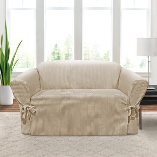 CoverWorks Monroe 1-piece Relaxed Fit Loveseat Slipcover