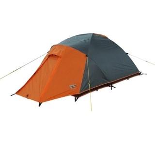 High Peak Outdoors 'Enduro' Grey/Orange All-Season 2-Person Backpacking Tent