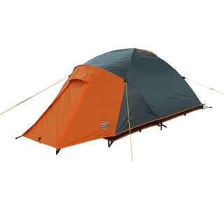 High Peak Outdoors u0027Endurou0027 Grey/Orange All-Season 2-Person Backpacking  sc 1 st  Overstock.com & Recluse 3-person Ultra Light Aluminum Backpack Tent - Free ...