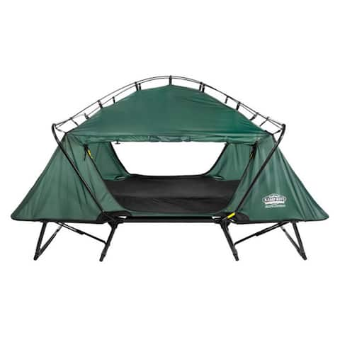 Kamp-Rite TB343 Double Tent Cot with Rainfly - Green