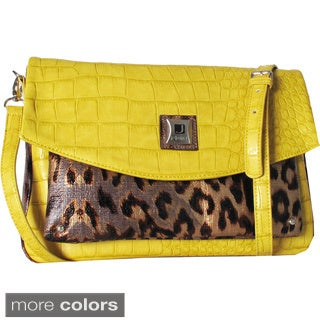 Joanel Mixed Animal Print Crossbody Bag