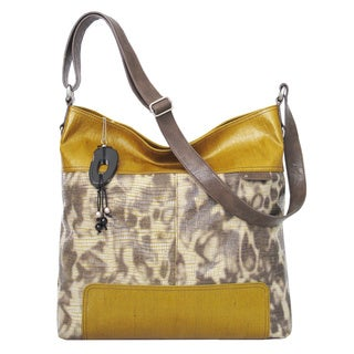 Joanel Large Animal Print Crossbody Bag