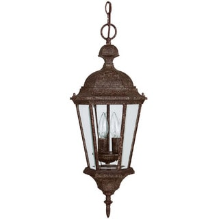 Capital Lighting Carraige House Collection 3-light Tortoise Hanging Outdoor Lantern