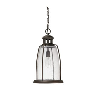 Capital Lighting Harbour Collection 1-light Old Bronze Hanging Outdoor Lantern