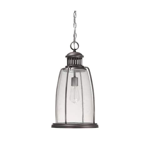 Harbour 1-light Graphite Hanging Outdoor Lantern