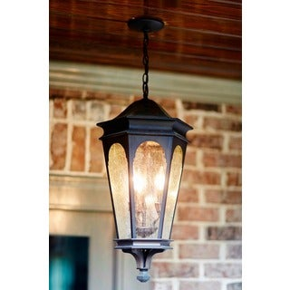 Capital Inman Park Collection 3-light Old Bronze Hanging Outdoor Lantern