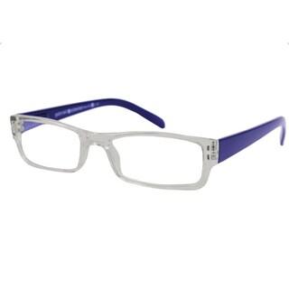 Gabriel + Simone Men's/ Unisex Renne Rectangular Reading Glasses