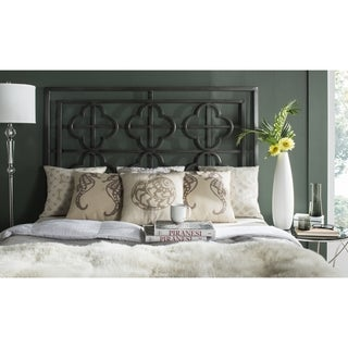 Safavieh Lucina French Antique Iron Quatrefoil Headboard (Queen)